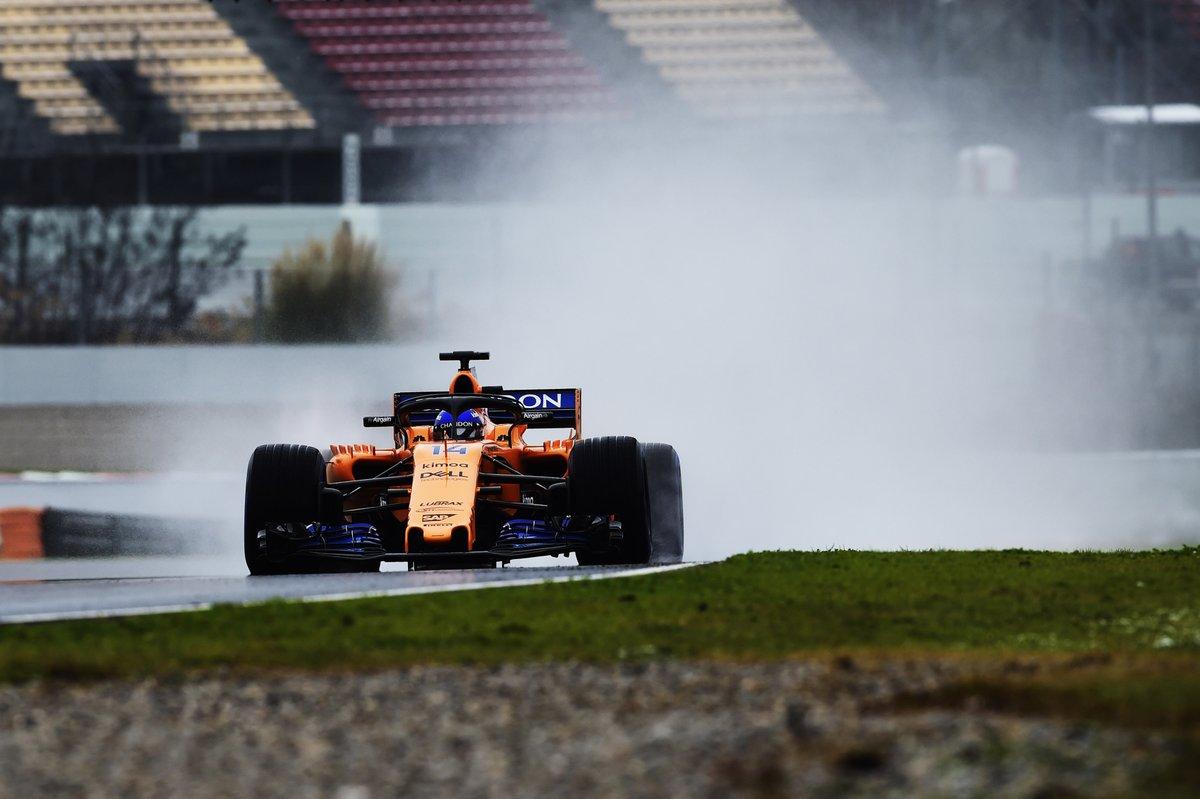 Sotto la neve di Barcellona, l'unico tempo è di Alonso
