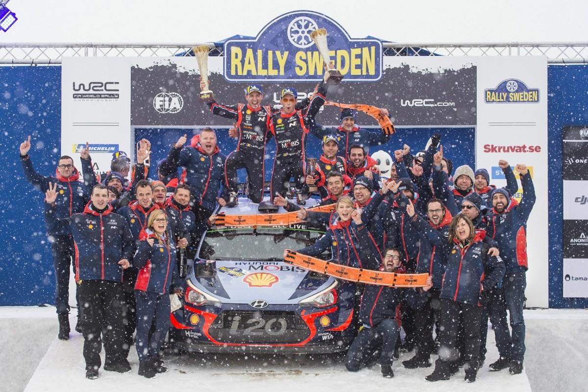 A Hyundai e Neuville il Rally di Svezia