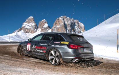 RS4 Avant e la 20quattro ore delle Alpi