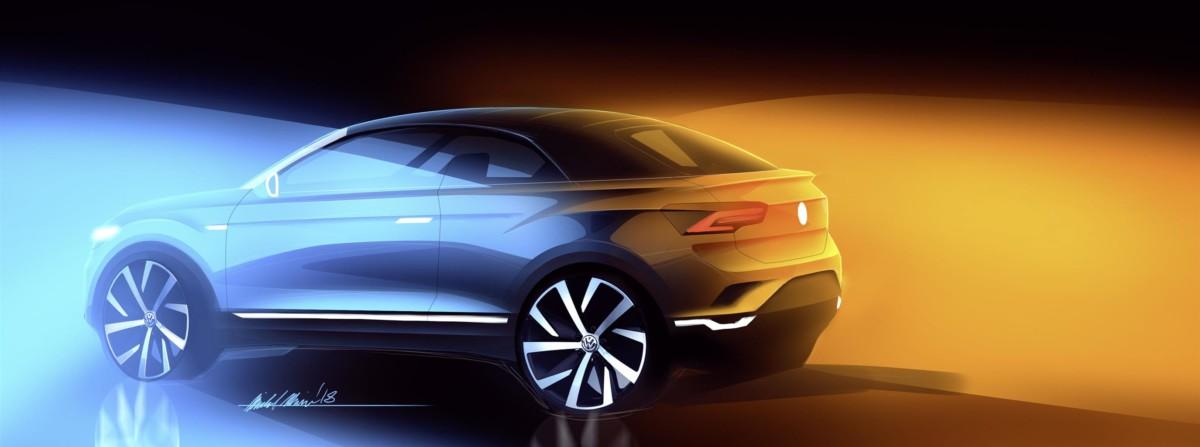 Volkswagen produrrà la T-Roc cabrio