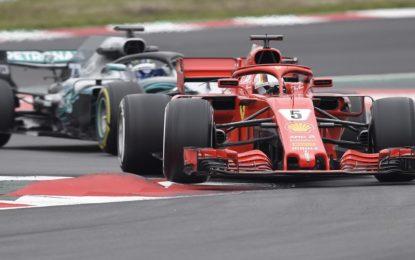 Miglior tempo di Vettel nel secondo giorno di test