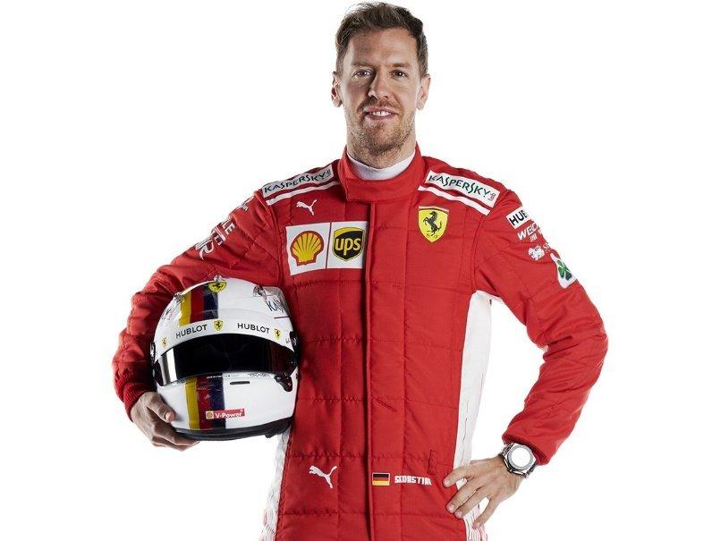 Vettel pronto e tranquillo
