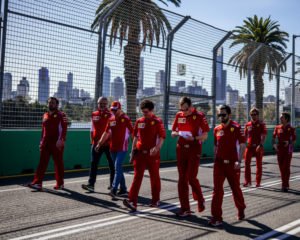 GP Australia: preparativi in casa Ferrari