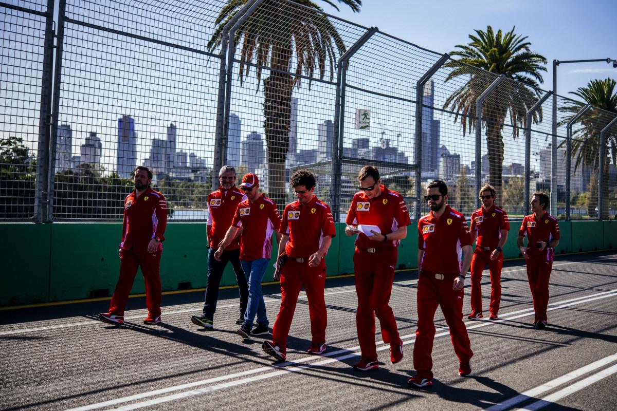 GP Australia: preparativi in casa Ferrari