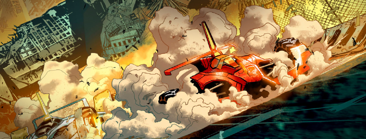 We Race: la Ferrari nel mondo del webcomic