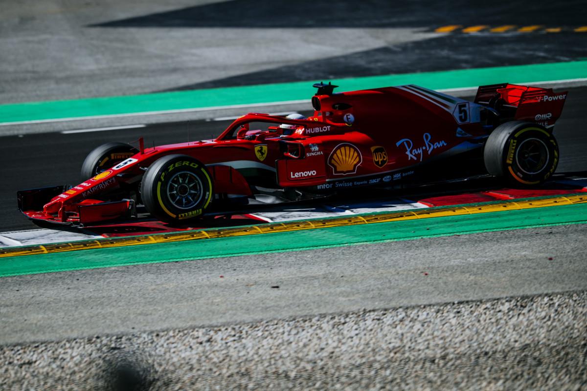 Per Vettel quasi 800 km nel primo giorno di test