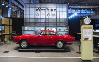 FCA Heritage con le coupé a Techno Classica Essen