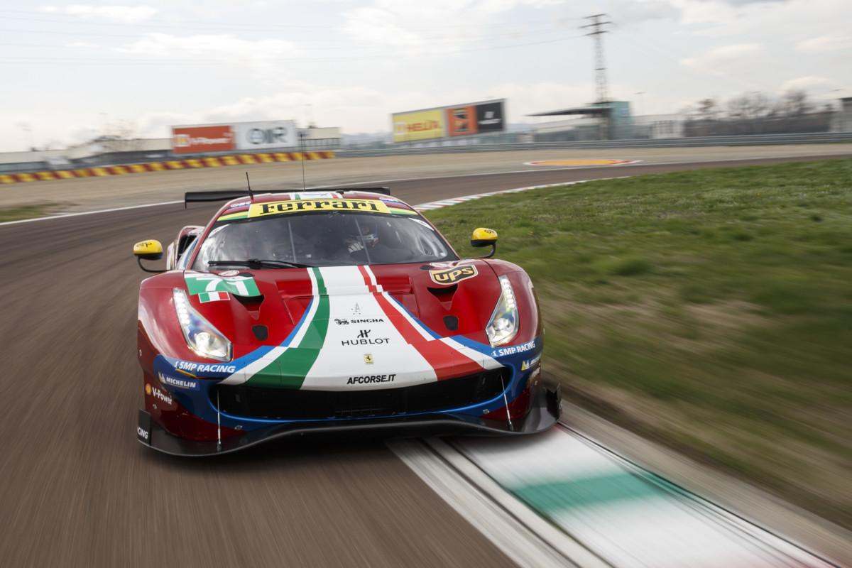 WEC: debutto a Fiorano per la 488 GTE 2018