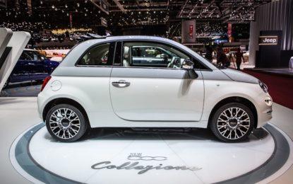 A Ginevra la nuova Fiat 500 Collezione