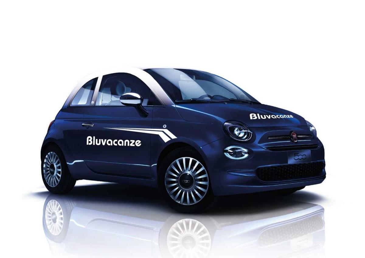 Fiat 500 per Bluvacanze e Vivere&Viaggiare