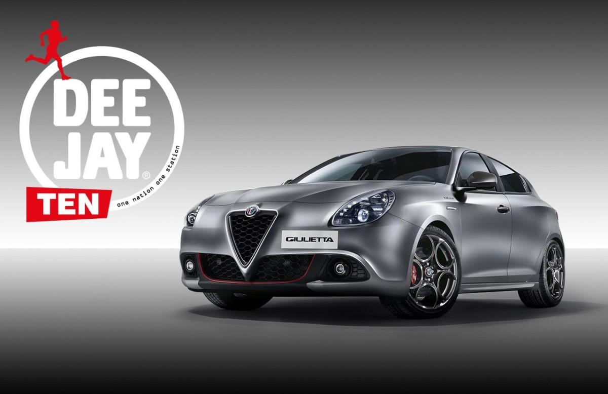 Alfa Romeo main sponsor DEEJAY Ten