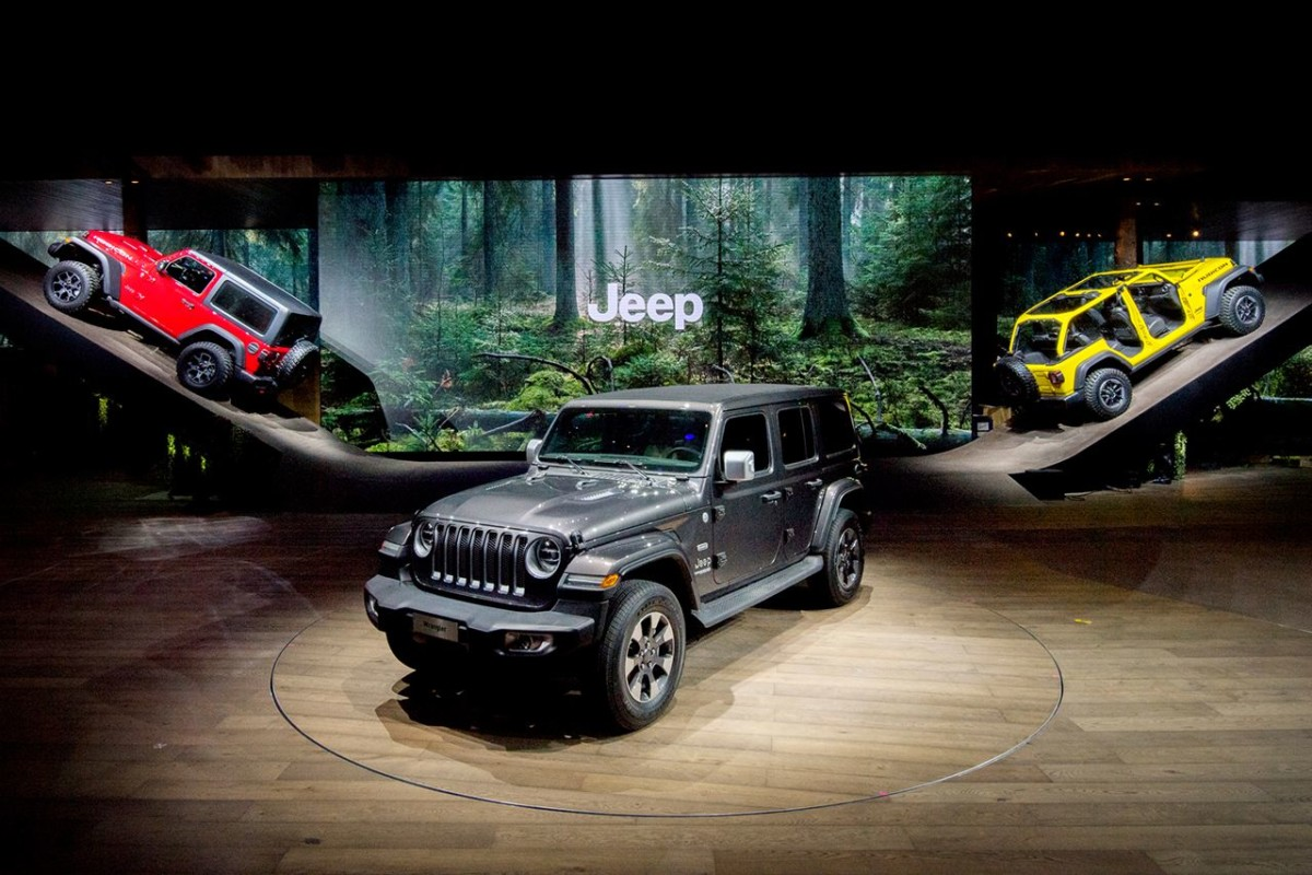 Creativity Award per lo stand Jeep a Ginevra