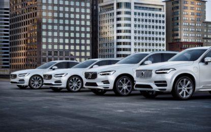 Volvo Cars: in ottobre vendite globali +11,8%