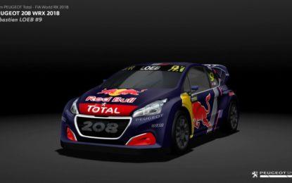 Team Peugeot Total squadra ufficiale nel WRX 2018