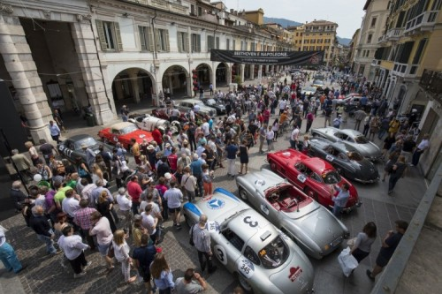 Mercedes-Benz protagonista alla 1000 Miglia 2018
