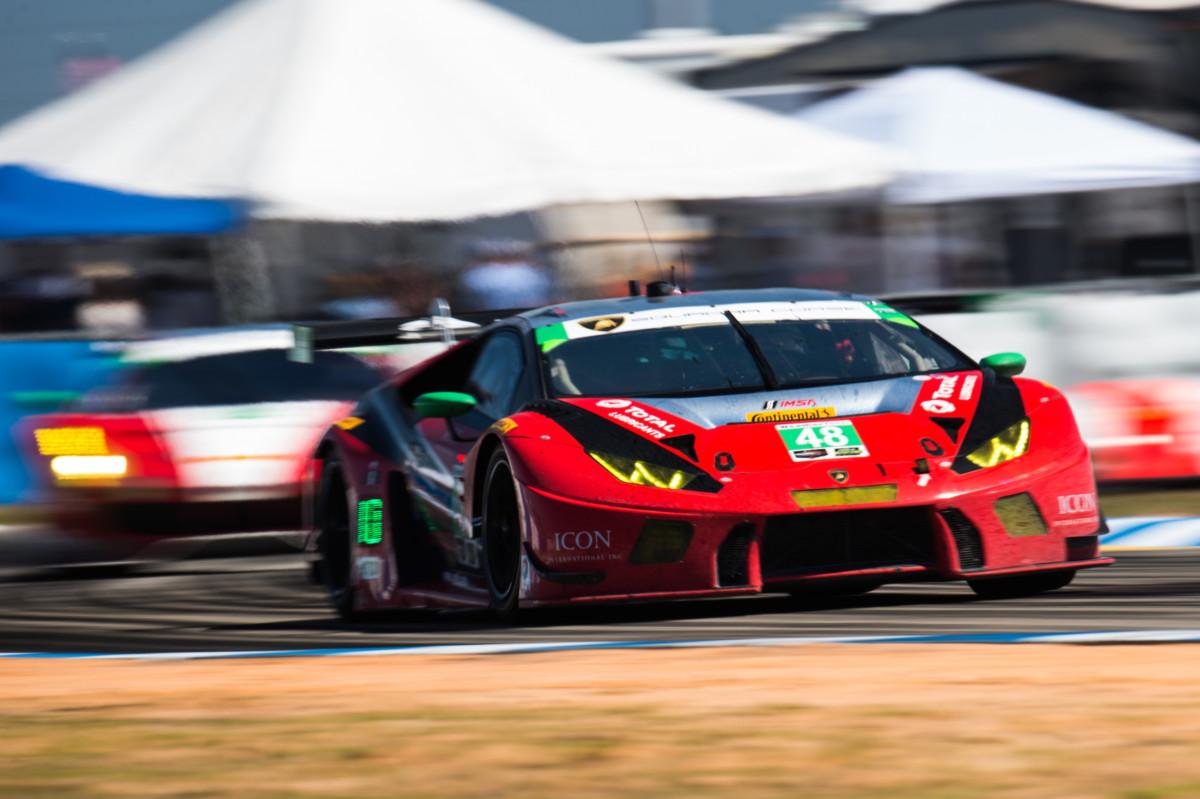 Lamborghini conquista la 12 Ore di Sebring
