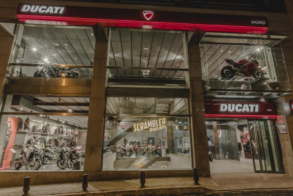 Ducati: a Madrid il Flagship Store più grande di Spagna
