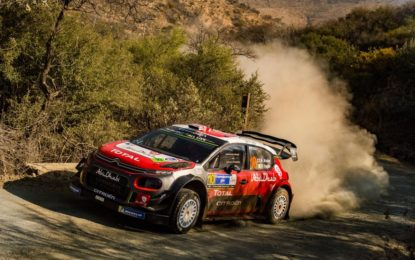 WRC Messico: Loeb out, Meeke in lotta per il podio