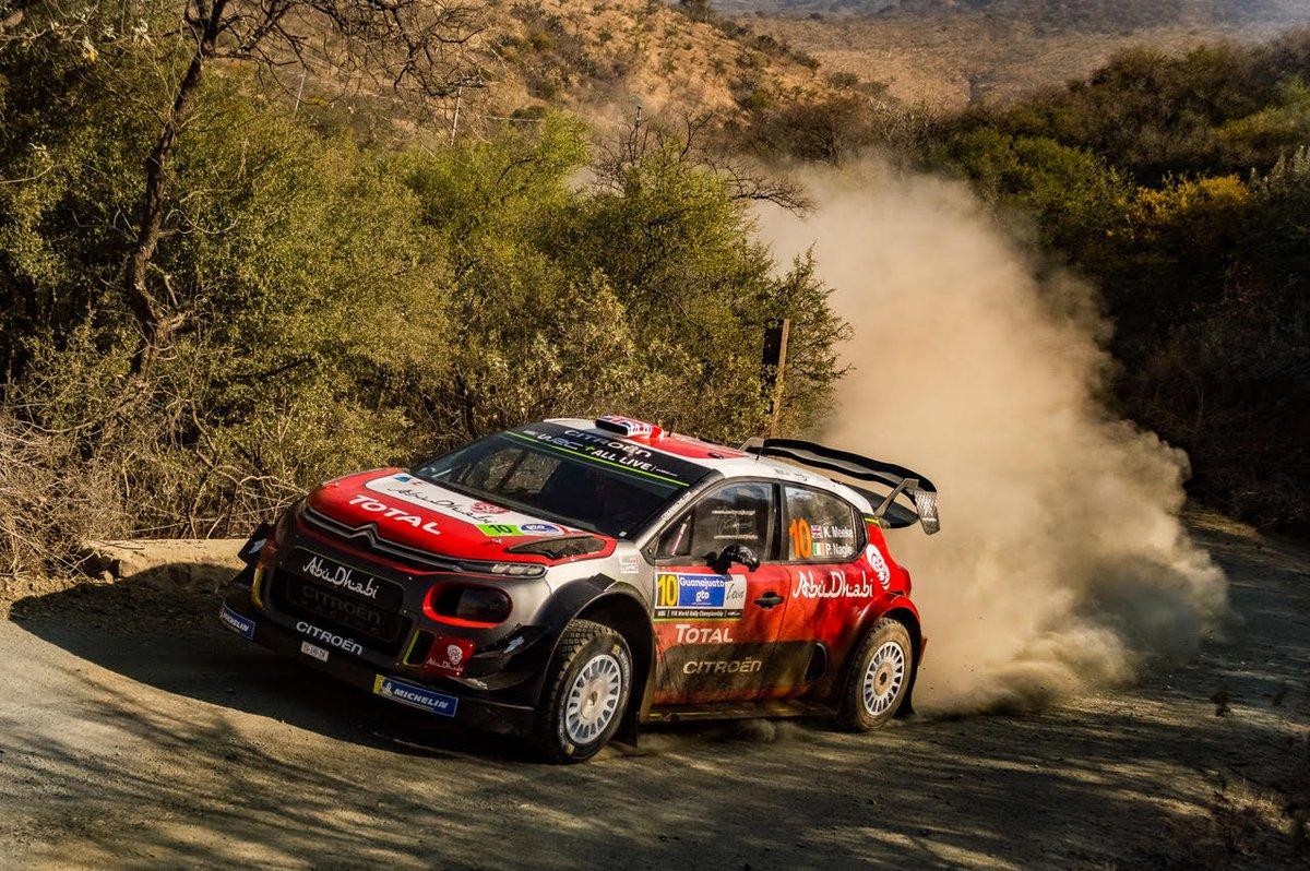WRC Messico: Loeb out, Meeke in lotta per il podio