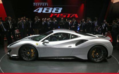 Michelin per la nuova Ferrari 488 Pista