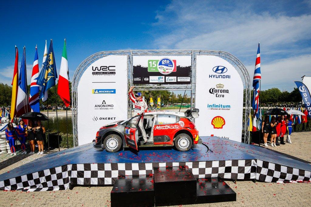 Messico: secondo podio per C3 WRC