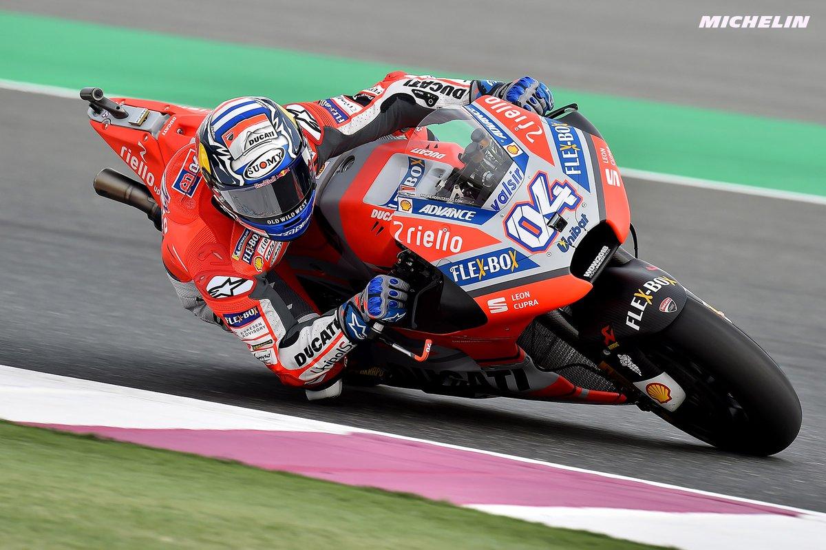 MotoGP: in Qatar è subito Dovizioso