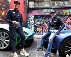 Daniel, Max, vernice e due Aston Martin DB11