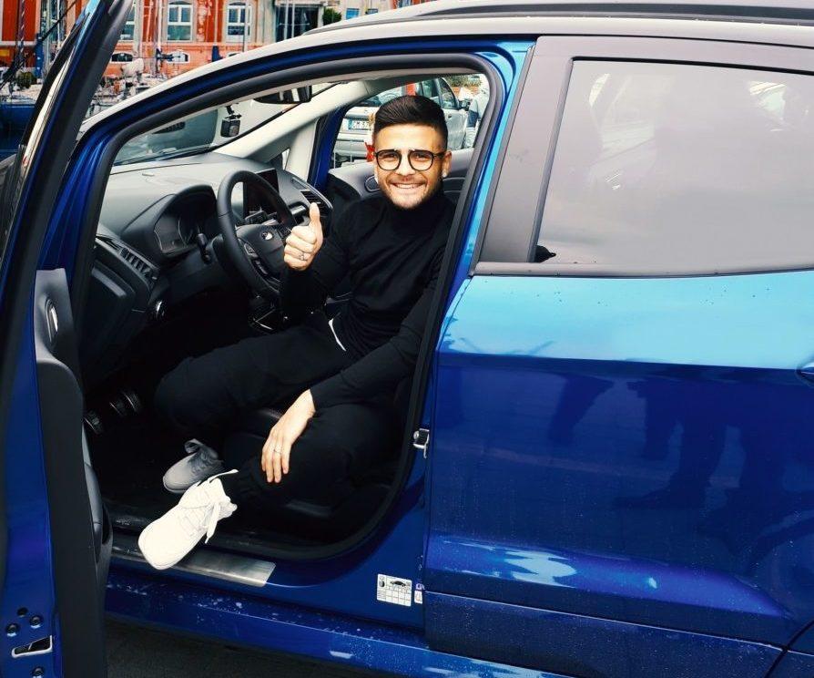 Lorenzo Insigne e nuova Ford EcoSport