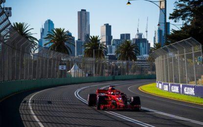 GP Australia: l'impegno degli impianti frenanti