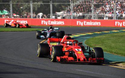 Vettel vince in Australia davanti a Hamilton e Raikkonen
