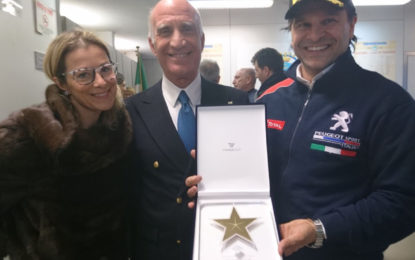Da ACI Sport la stella dei 10 Titoli ad Andreucci