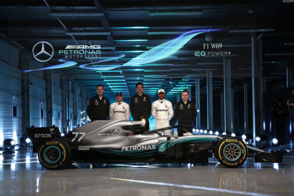F1 W09 EQ Power+ Launch, Silverstone – Steve Etherington
