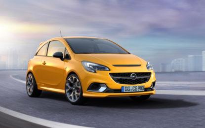 Nuova Opel Corsa GSi