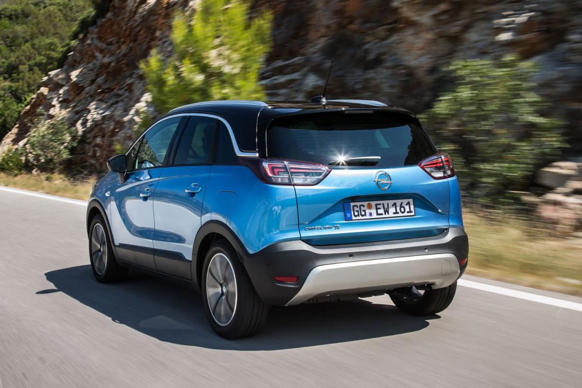 Opel Crossland X: oltre 100mila ordini
