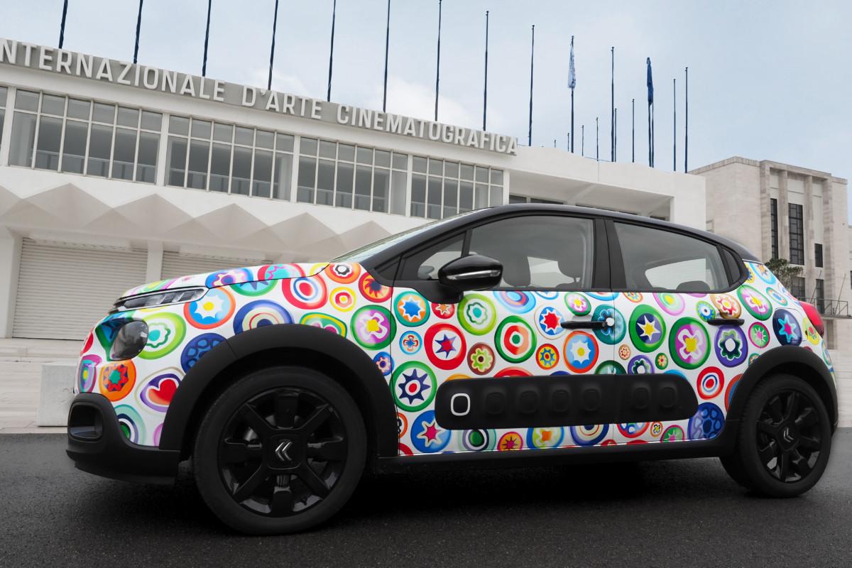 Una Citroën C3 coi colori di Venezia