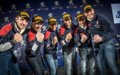 Peugeot Sport Italia presenta la squadra CIR 2018