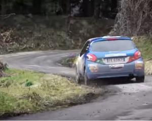 Allenamento per i giovani di Peugeot Sport Italia