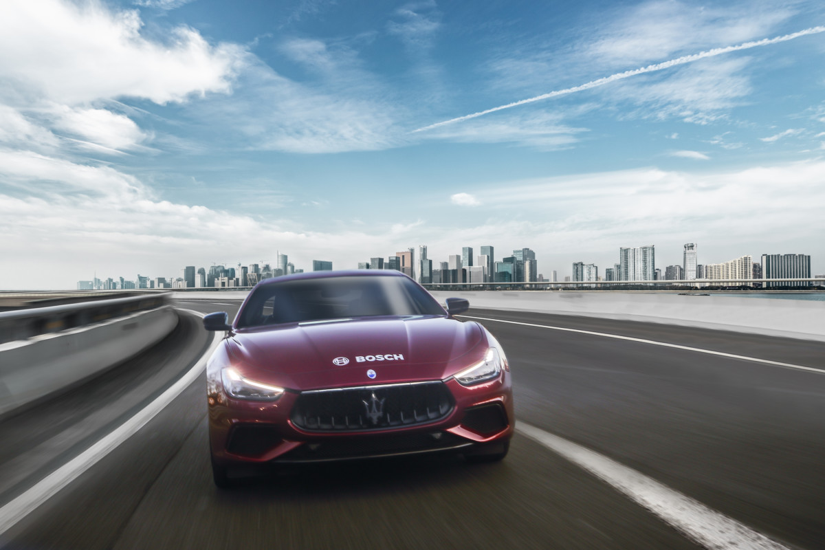 Bosch highway assist per Maserati