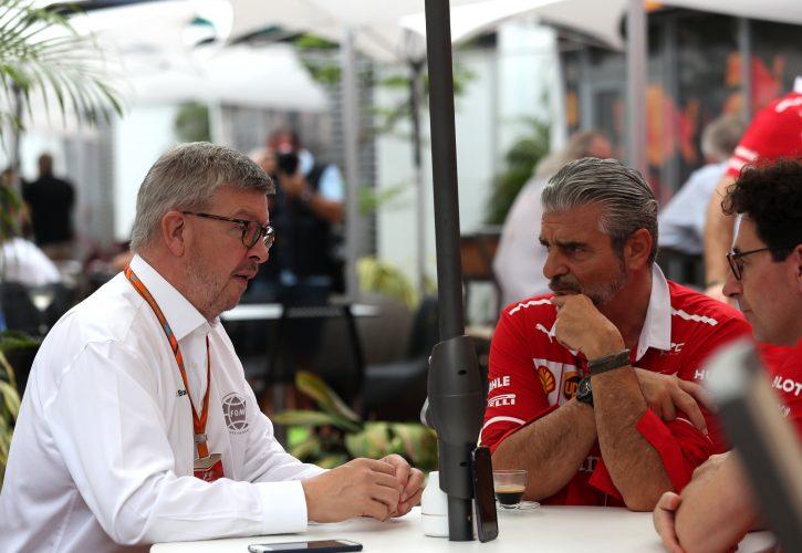 Brawn vuole trovare una soluzione con la Ferrari