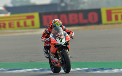 SBK Thailandia: Gara 2 a Chaz Davies su Ducati