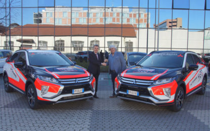 Mitsubishi Motors Italia official supporter in Moto2
