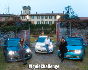 #IgnisChallenge: sfida in casa Suzuki a colpi di like