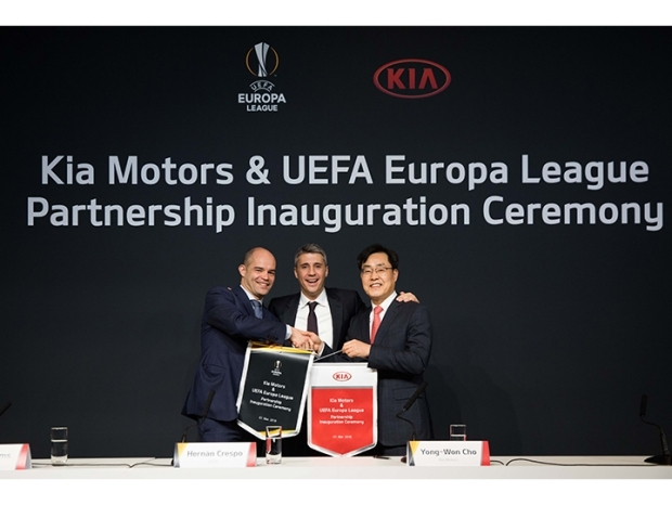 Kia partner UEFA Europa League