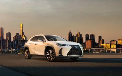 Lexus UX, l'urban crossover compatto