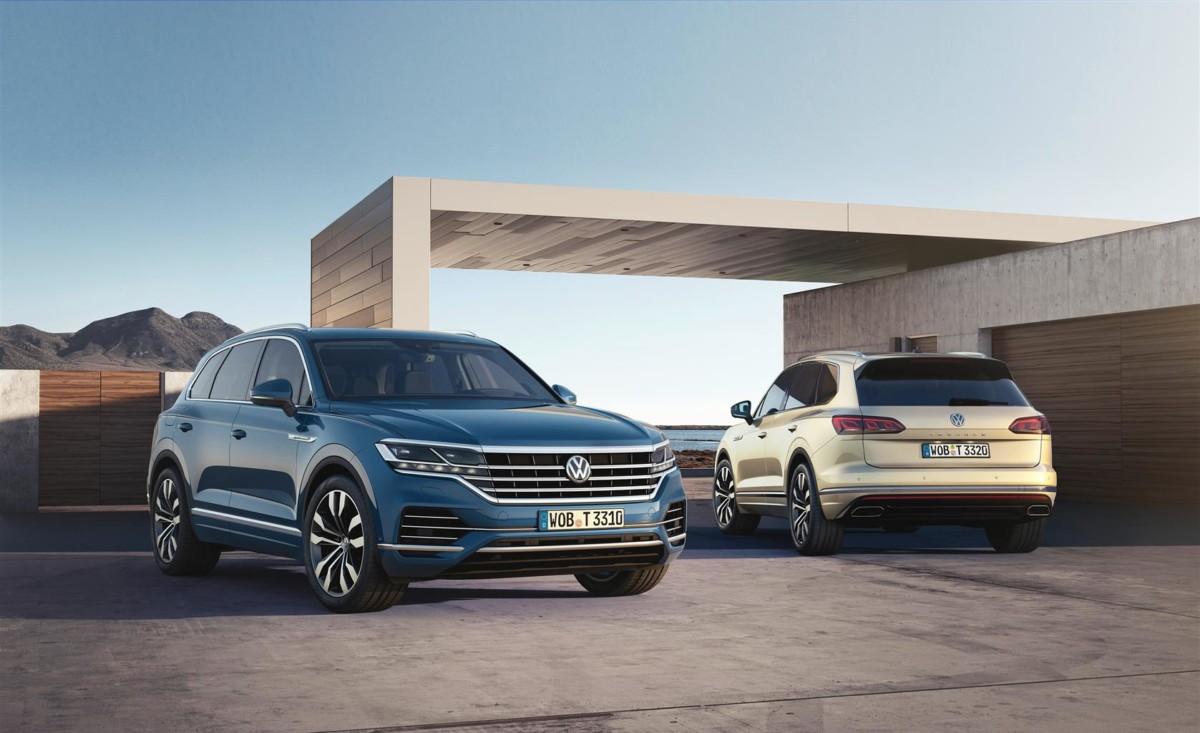 Anteprima mondiale nuova VW Touareg