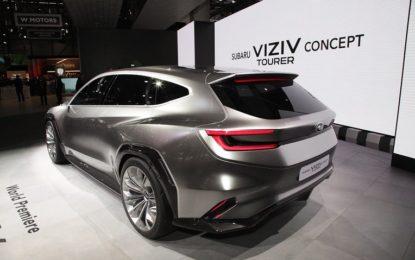 VIZIV Tourer Concept: il futuro di Subaru a Ginevra