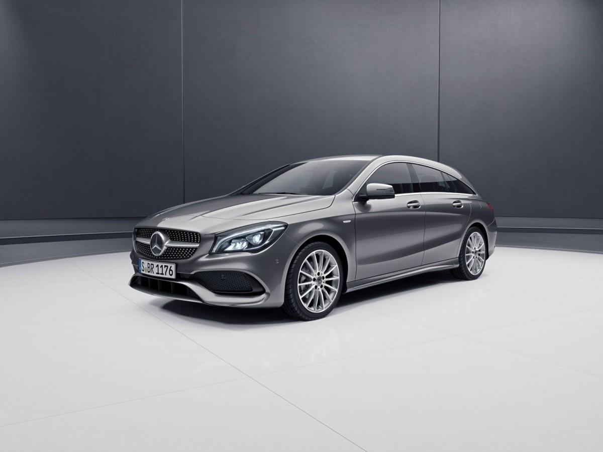 Da Mercedes-Benz la serie speciale Night Edition