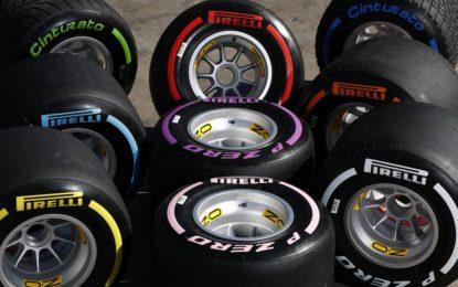 Pirelli annuncia set e mescole per Spagna e Canada