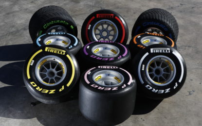 Pirelli riduce di 0,4 mm il battistrada in tre GP