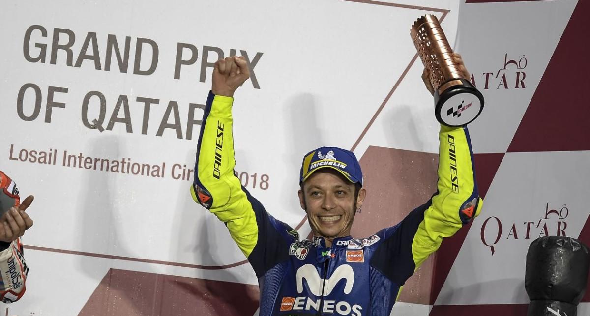 """Valentino Rossi: """"Un grandissimo modo di iniziare"""""""